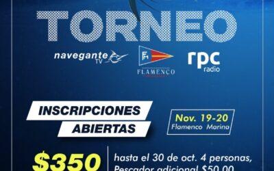 TORNEO DE PESCA – NAVEGANTE / FLAMENCO MARINA